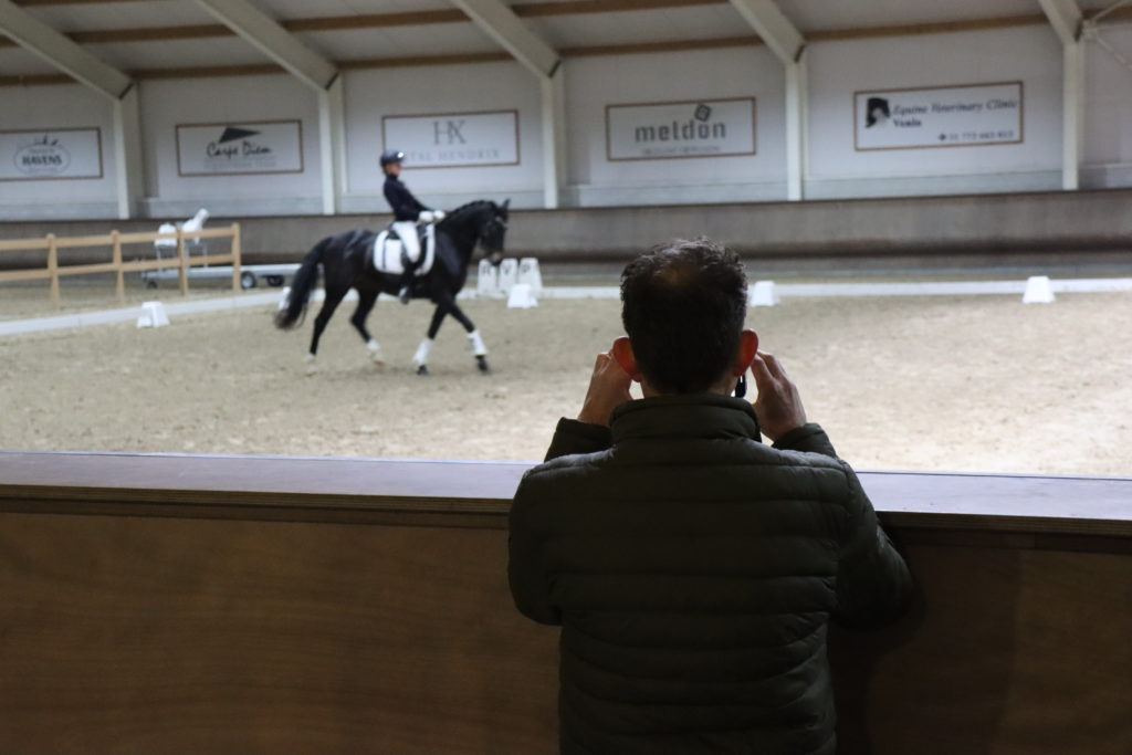 Dressuur Training - KNHS Limburg talent boost